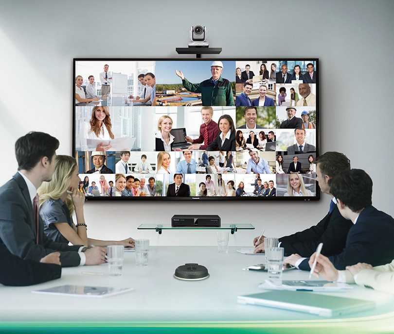 Panasonic announces new capabilities for its KX-VC HD visual communications range