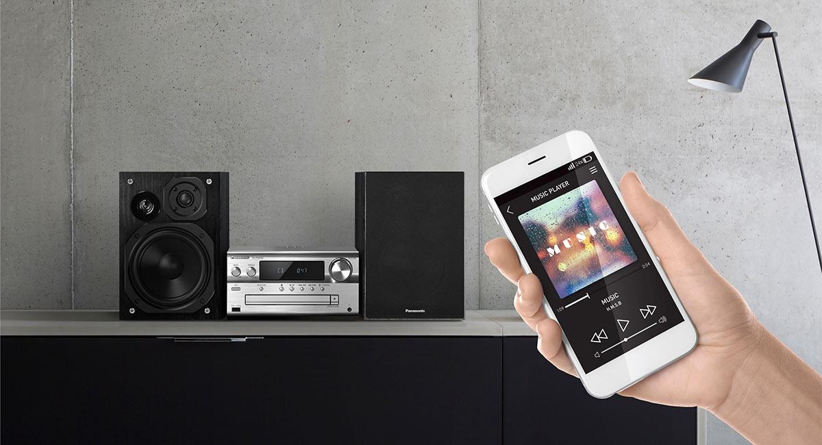 Rich Bluetooth® Sound