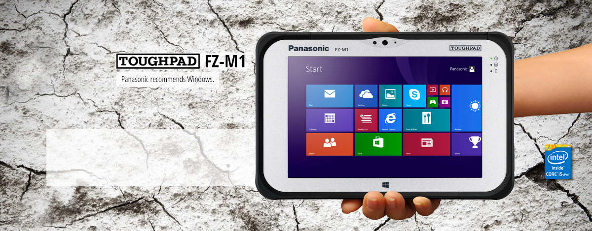 "Fully Rugged 7"" Tablet"