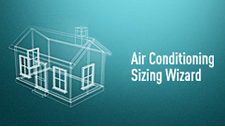 Air Conditioner Sizing Wizard