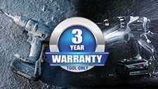 Panasonic Power Tools Warranty