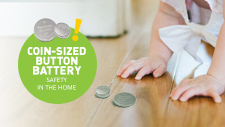 Coin-Sized Button Battery Safety Tips