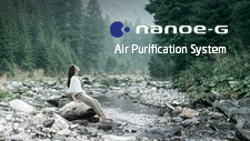 nanoe-G Air Purifying System | A clean home environment