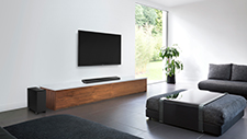Soundbar or surround sound? The clever ALL70T can be both