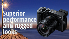 Superior performance and rugged good looks: LUMIX G 12mm Leica F1.4 lens