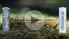 Watch the videos to learn all about Panasonic's eneloop rechargeable batteries
