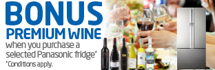 BONUS premium wine with selected fridges