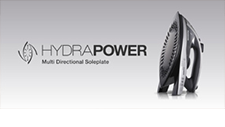 Introducing the new HydraPower Steam Iron