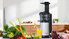 Make it fresh or frozen met de Panasonic Slow Juicer.