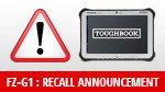 FZ-G1:RECALL ANNOUNCEMENT