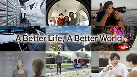 "View the video of Panasonic Brand Video 2019 ""A Better Life, A Better world"""