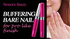 Buffing bare nails for a pro-like finish