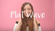 Flat Wave Hairstyle