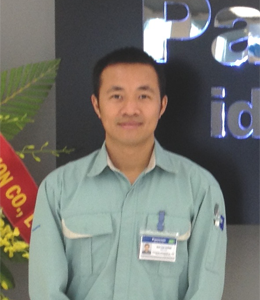 Dinh Phu Cuong Assistant Manager Refrigerator Research & Development R&D Center Panasonic Appliances Vietnam Co., Ltd