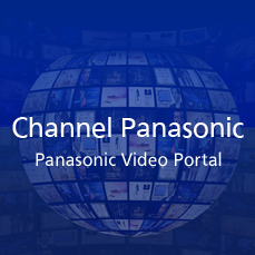 Channel Panasonic [Site global: inglês]
