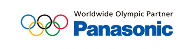 Logo of Worldwide Olympic Partner Panasonic