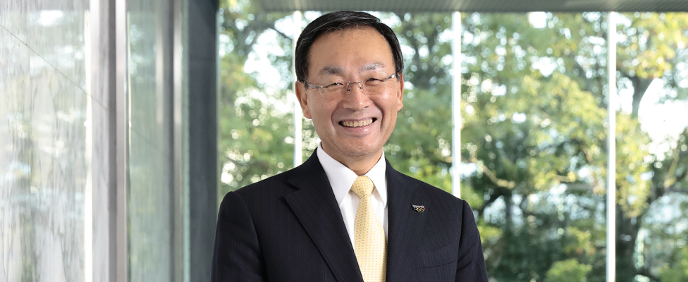 Photo of the CEO of Panasonic