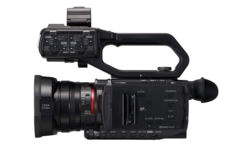 Panasonic Announces two of the Industry's Smallest and Lightest*¹ 4K 60p Professional Camcorders with a Wide-Angle 25mm*² Lens and 24x Optical Zoom
