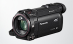Panasonic 4K Camcorder mit 4K Cropping, 4K Foto, Wireless Multi Camera, Kino-Effekten und mehr