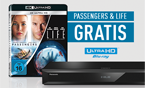 Gratis-Zugabe für Panasonic Ultra HD Blu-ray Player DMP-UB704 und UB404 ab September 2017