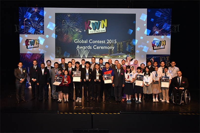 Kid Witness News – Gewinnerteams 2016