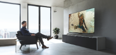 Panasonic TV EZ1000 room
