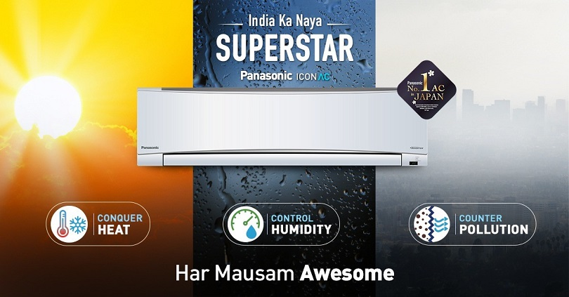 Panasonic launches new Icon AC range with Flipkart in India