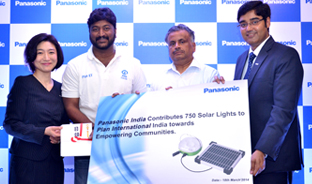 Panasonic Sahyog 100 Thousand Solar Lanterns Project