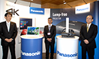Panasonic's booth in GITEX 2013