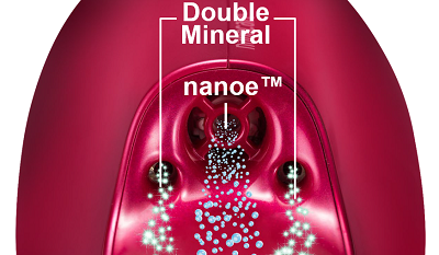 nanoe™ and Double Mineral firmly tighten the cuticle and create beautiful, damage-resistant hair