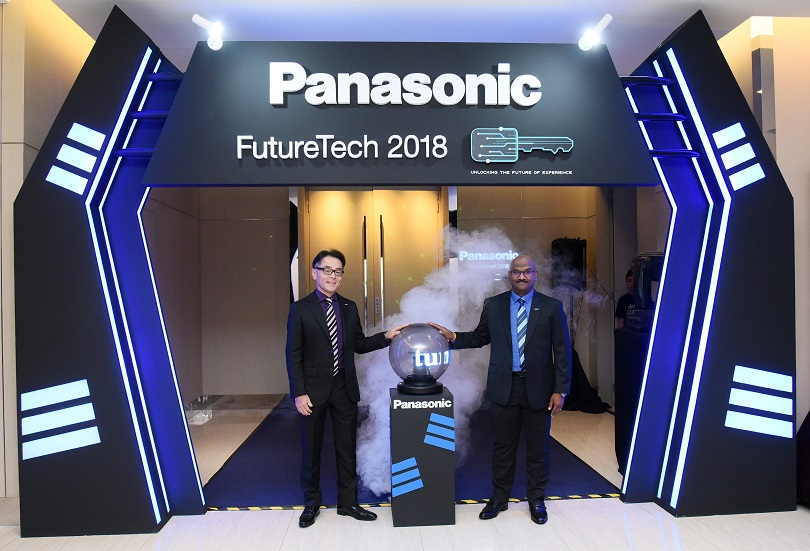 Mr Hiroyuki Muto, Deputy Managing Director Panasonic Malaysia & Mr Seelan Kandasamy, General Manager, Country Head of System Solutions, Panasonic Malaysia