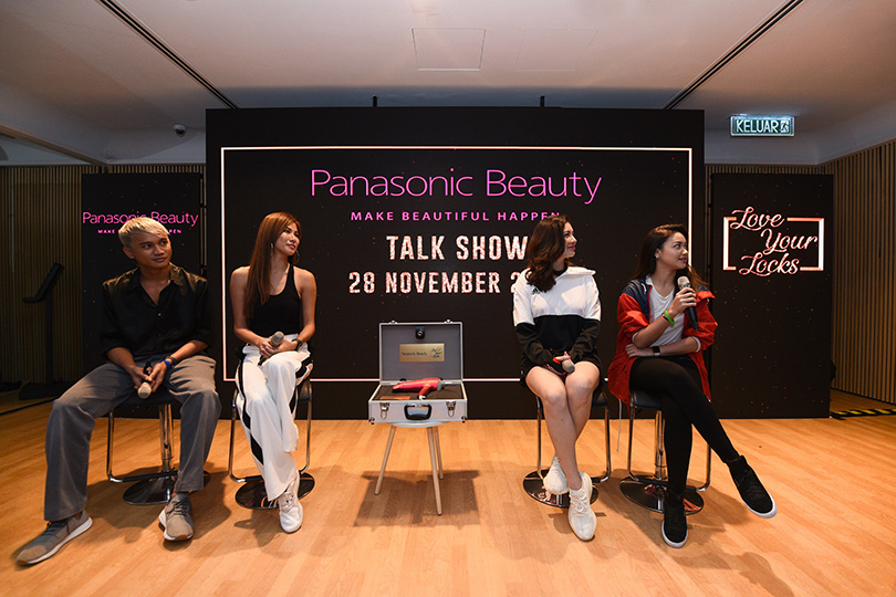 Sit-down talk show featuring our special guests, Daiyan Trisha, Lee Yvonne, Carey Ng and Yusof Hashim
