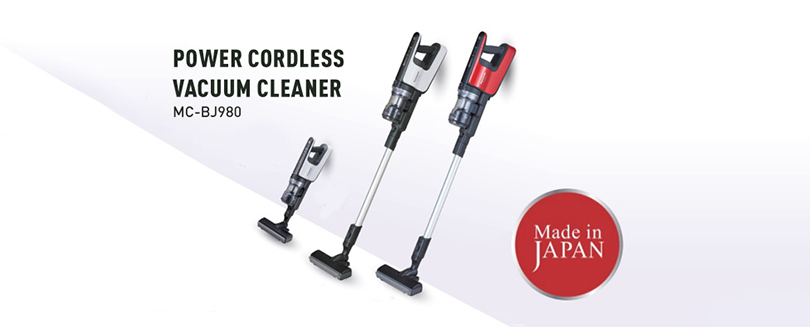The most powerful Vacuum Cleaner in the industry with suction power of 200W and runs up to 65 mins
