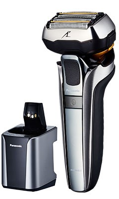 The new 5-Blade AC/Rechargeable Shaver ES-LV9C featuring ultra-fast linear motor drive and new Multi-Flex 5D Head for best shaving technology and performance