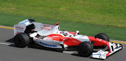 Photo of Panasonic becomes title sponsor for F1 Toyota Racing Team