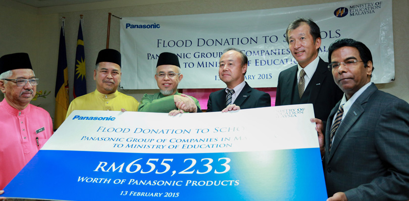 Panasonic Embarks On Flood Relief Efforts For Malaysia's East Coast