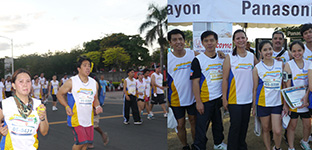 Panasonic Joins PhilHealth-DOH Run 2013
