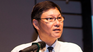 Photo of Managing Director of Panasonic Singapore