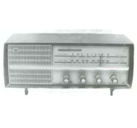 Photo of The first vacuum tube radio GV-263