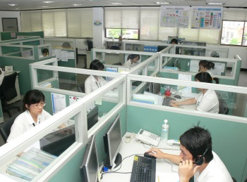 Photo of Customer Meeting Center for the highest customer satisfaction