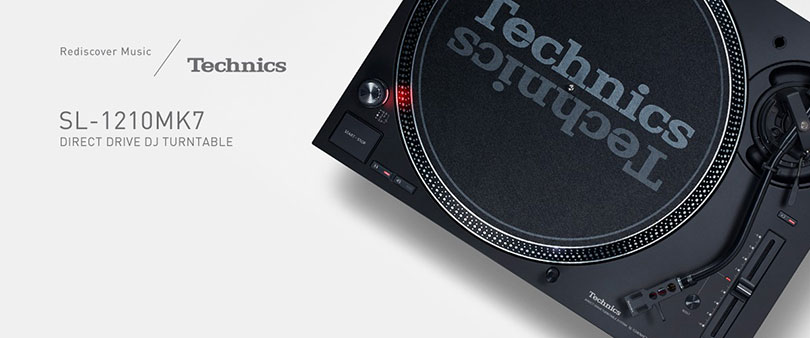 Legendary DJ Turntable: Electrify the crowds' passion with Technics