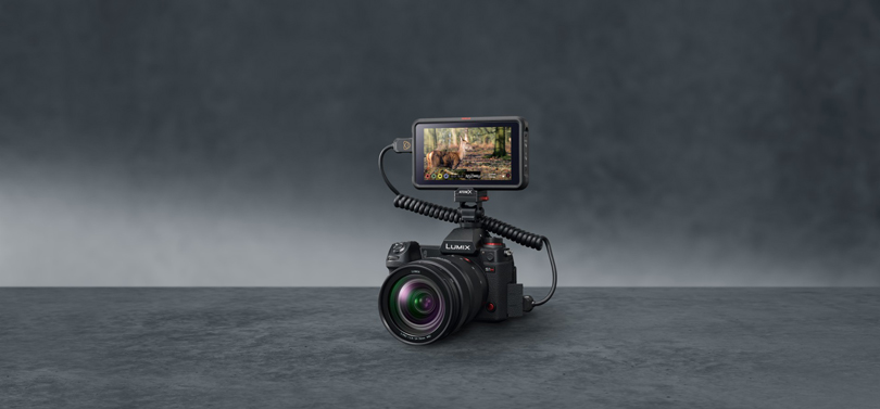 Panasonic Releases RAW Video Data Output over HDMI Firmware for LUMIX S1H