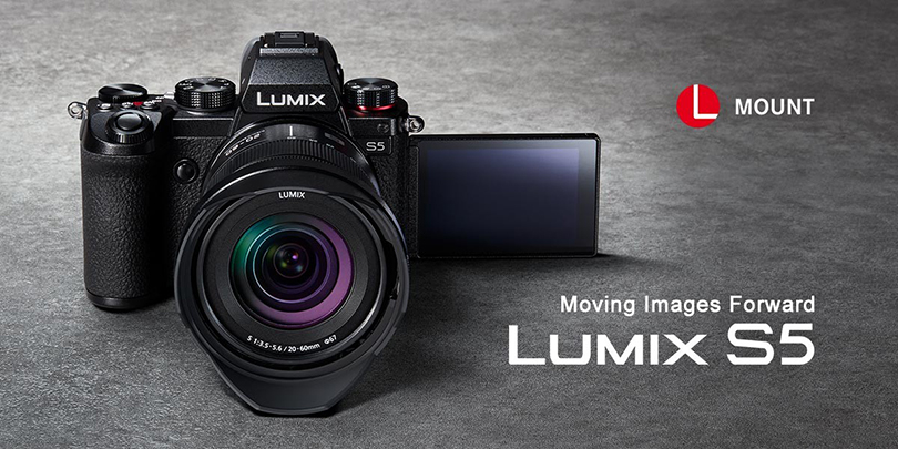 The Panasonic LUMIX S5: a new hybrid full-frame mirrorless camera offering stunning image quality and exceptional video performance