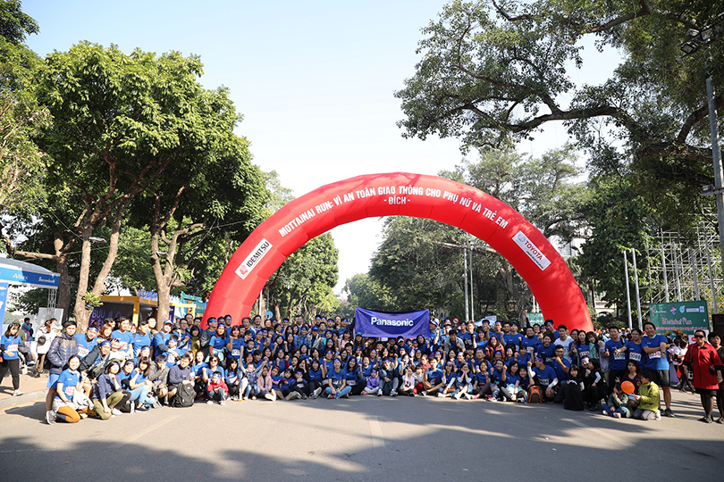 "Together with Panasonic Vietnam to support Japanese spirit of ""avoiding waste"" at Mottainai 2019"