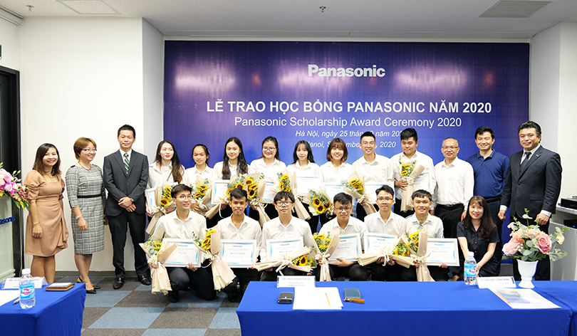 PANASONIC AWARDED 15 SCHOLARSHIPS TO TALENTED STUDENTS NATIONWIDE IN 2020