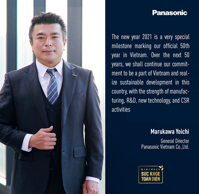 Panasonic Vietnam's General Director message 2021