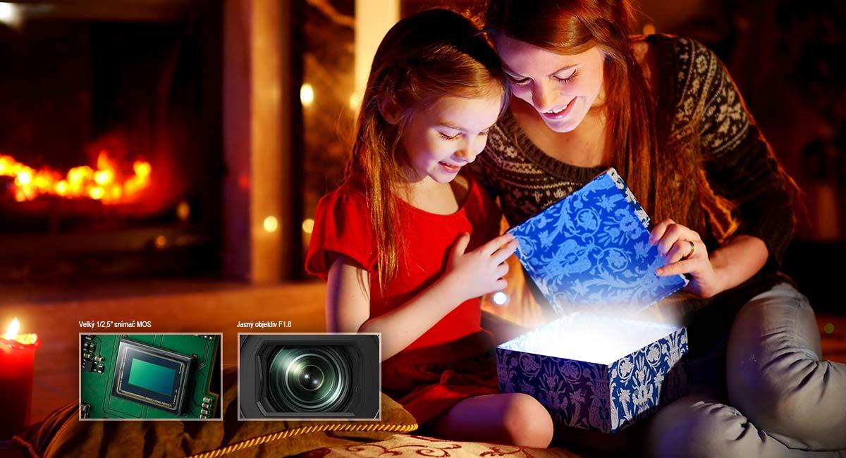 Skvělé video za horších světelných podmínek