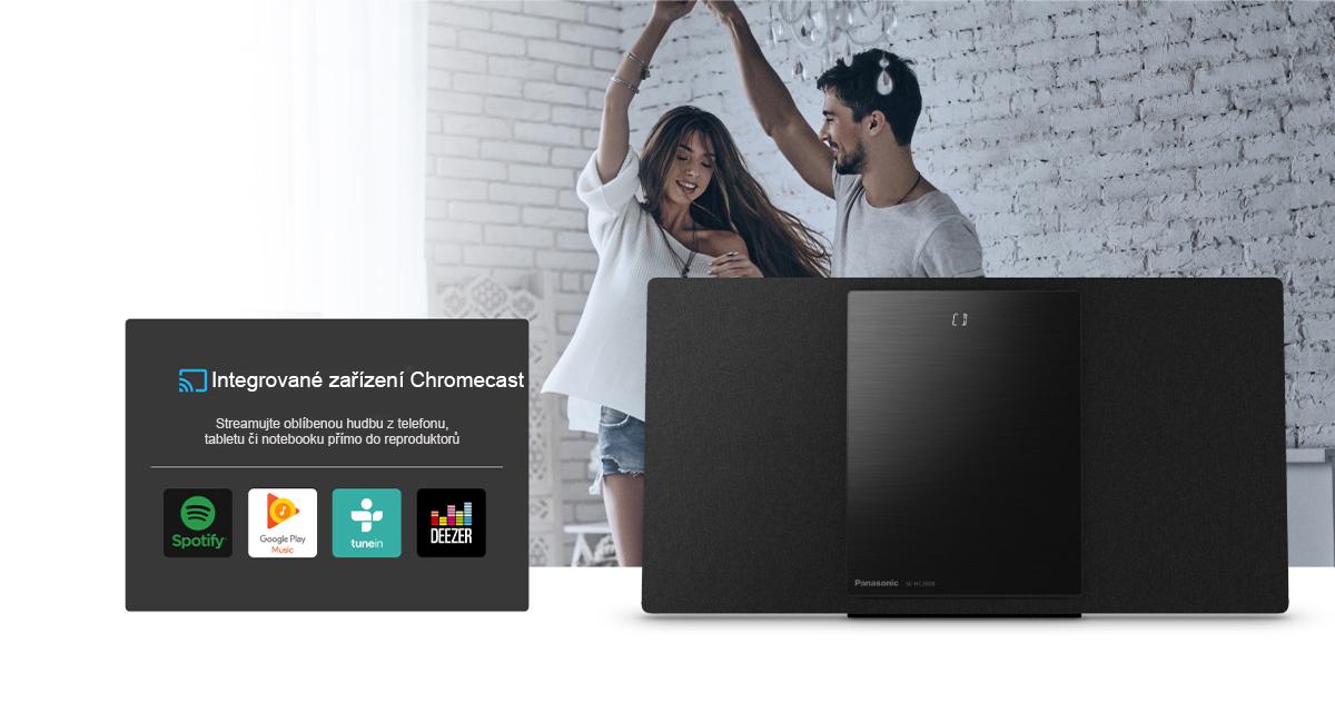 Lepší propojení se zařízením Chromecast
