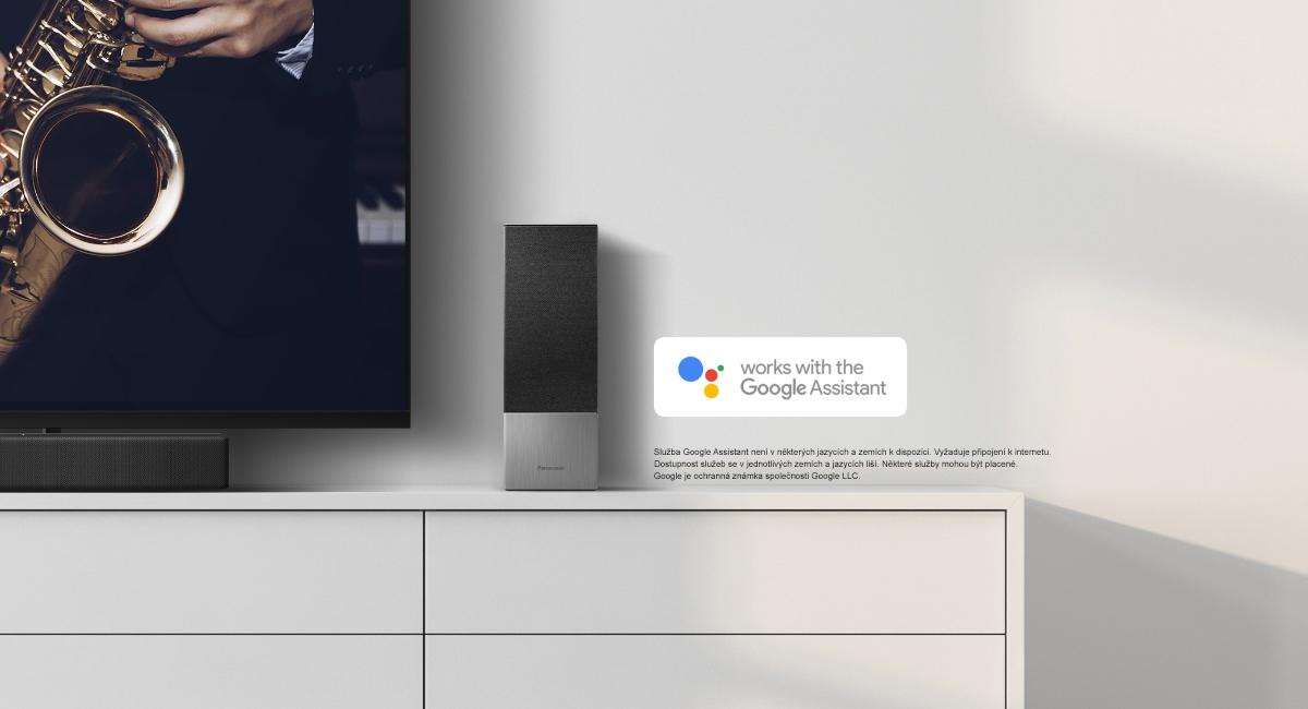 Hlasové ovládání díky propojení s aplikací Google Assistant