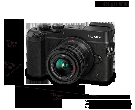 DMC-GX8K LUMIX G DSLM Wechselobjektiv-Kamera